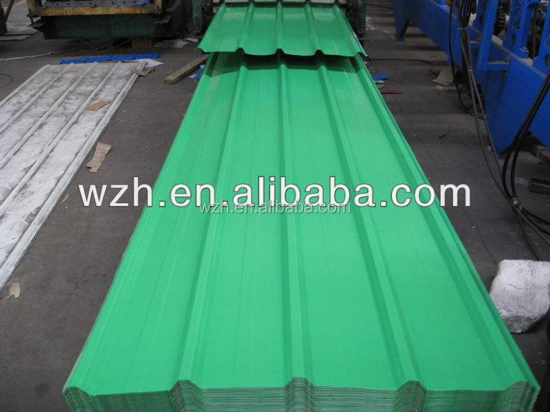 ppgi corrugated sheet price / sheet metal fence panel /roof sheets price per sheet in india