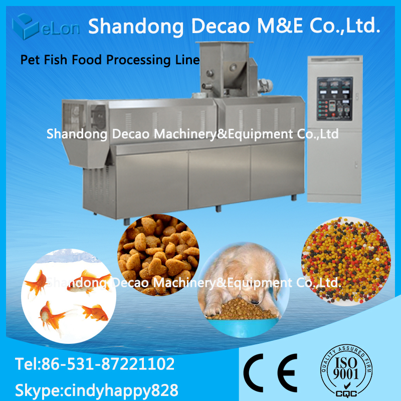 stand-up bag/pouch pet food packing machine