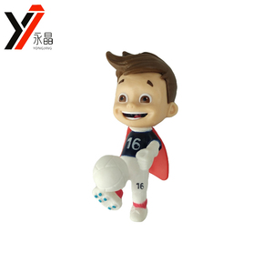Cartoon Soccer Player Figures Set Mini Football Player Dolls