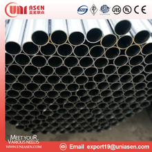 Tianjin Factory ERW steel pipe High Strength Atmosphere Correction Resisting Round Welded Steel Tube Structural Steel Pipe