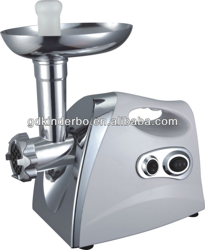 Power and efficient electric meat mincer