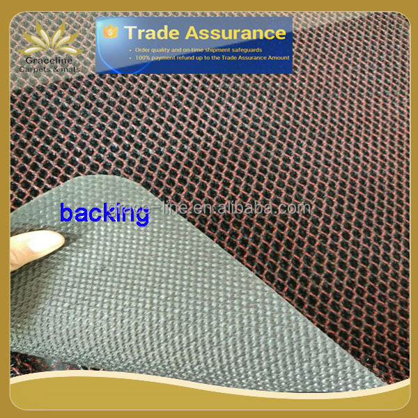 polyester mesh mat with/without border
