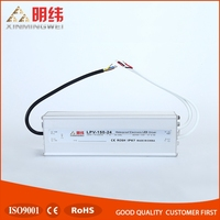 Mean Well 150W 24V Power Supply LPV-150-24 Waterproof LED Driver