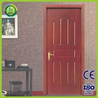 2015 high quality new design termite resistance wpc interior wooden door