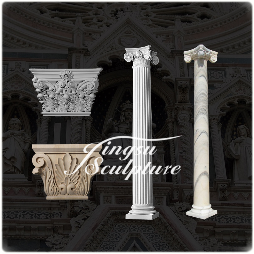 Factory supplies house indoor decorative pillars