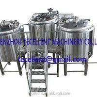 Customizable Stainless Steel Beer Brewing Equipment