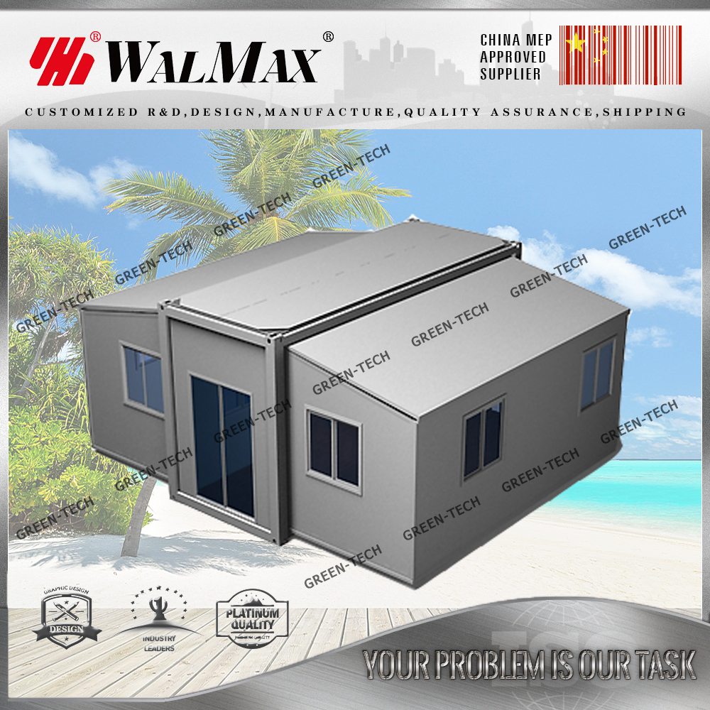 CH-DS062 china best luxury folding beach cabin