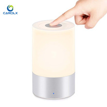 Portable Battery Powered Wireless LED Table Lamp with Touch Dimmer bedside Night Light