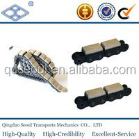 C24B-G1 standard flat rubber snow conveyor chain attachment