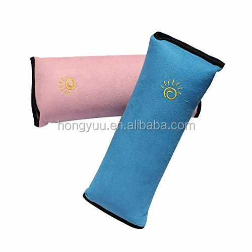 Auto Pillow Car Safety Seat Belt Protect Shoulder Pad Adjust Vehicle Seat Belt Cushion for Kids Children