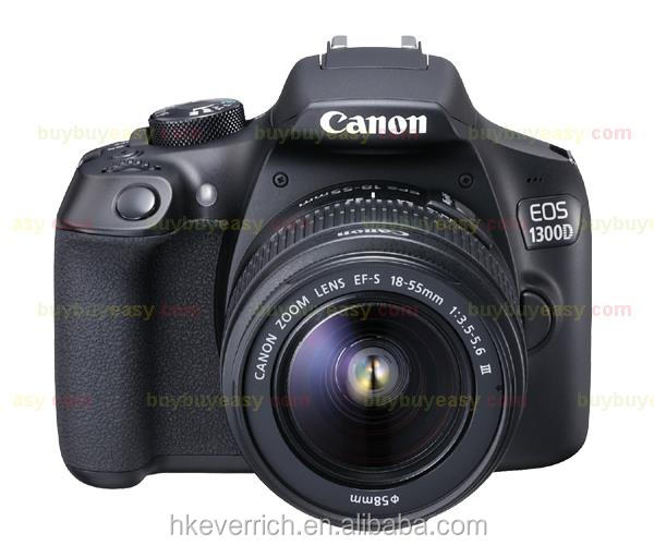 Canon EOS 1300D Rebel T6 DSLR <strong>Camera</strong> with EF-S 18-55mm II Lens