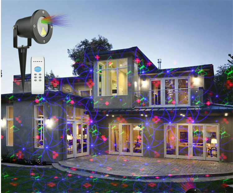Night star landscape light mini twinkling star liquid sky christmas laser light projector