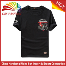 Latest new wholesale custom new design man printing t shirt 100% pima cotton tshirts t-shirt