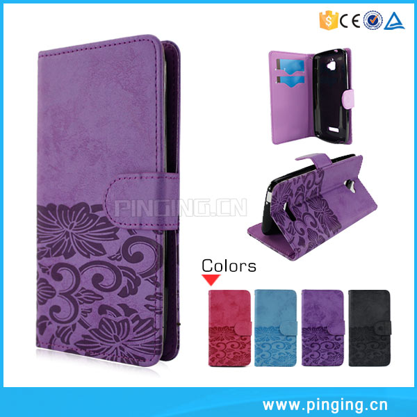 Hot Sale Book Style Wallet Leather Case For Xiaomi Redmi Note 3 Pro