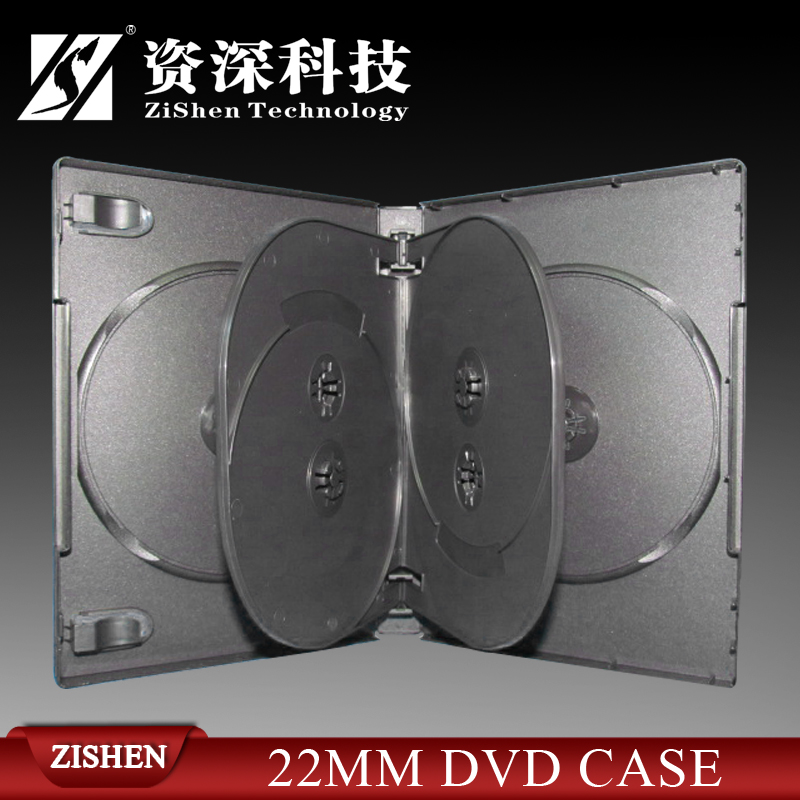 Strong PP 6 Disc Dvd Case Black