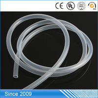 Flexible rubber tube customized accepted 5mm silicone tubing for coffee maker