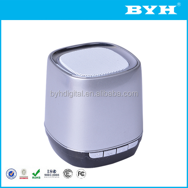 multifunction hifi portable plastic speaker enclosure