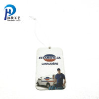 Wholesale custom paper car hanging little tree air freshener