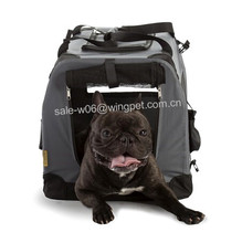 Medium grey foldable pet carrier