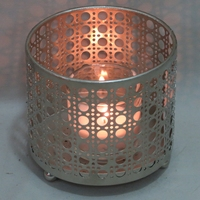 Home decorative small votive metal candle holder
