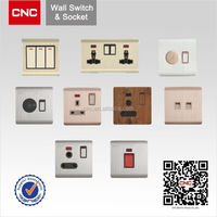 British Type solar charger with ac wall socket high quality