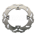 High quality China made motorcycle stainless rear solid brake discs rotors for AX-1 250CC