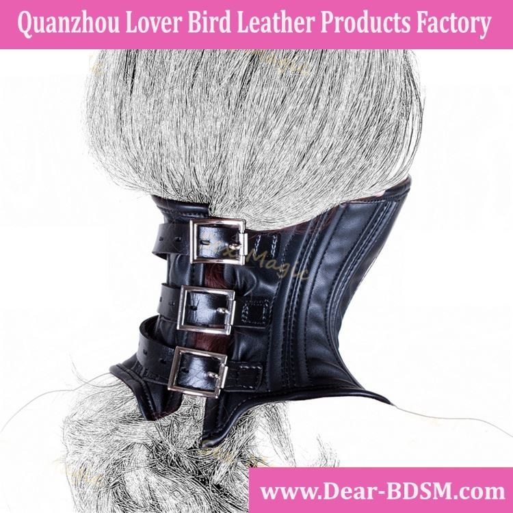 Sex Products Female Leather Slave Collar Harness Sexy Bondage Wear Leather Mask Adult Sex Toys For Couples Cosplay