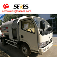 Dongfeng 4*2 lng tank truck lpg truck for sale