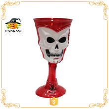 Halloween party decoration LED plastic skull cup