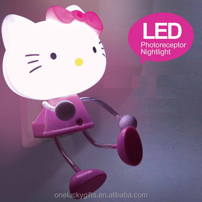 LED nightlights lamps baby toys,customized cartoon animal night light