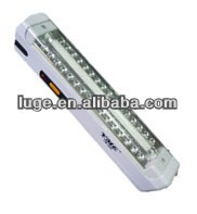 fluorescent emergency light with tube and LED emergency lighting