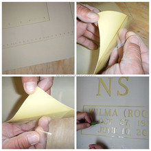 High Quality Monument Sandblasting Rubber Adhesive Stencil Protective Mask for Stone