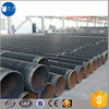 high quality carbon steel pipe coated with coal tar epoxy for water pipeline construction