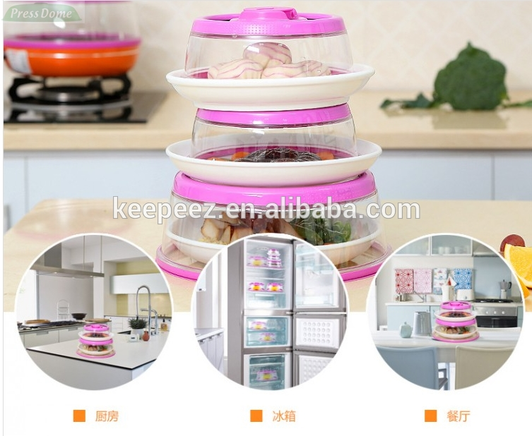 Easy open reusable food saver salad sealer fresh keeping for Innovative household items