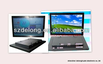 22''Mutil Dot IR SAW touch screen monitor all in one pc