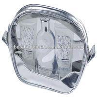 Luxuries bath and body gift sets in Leather bag