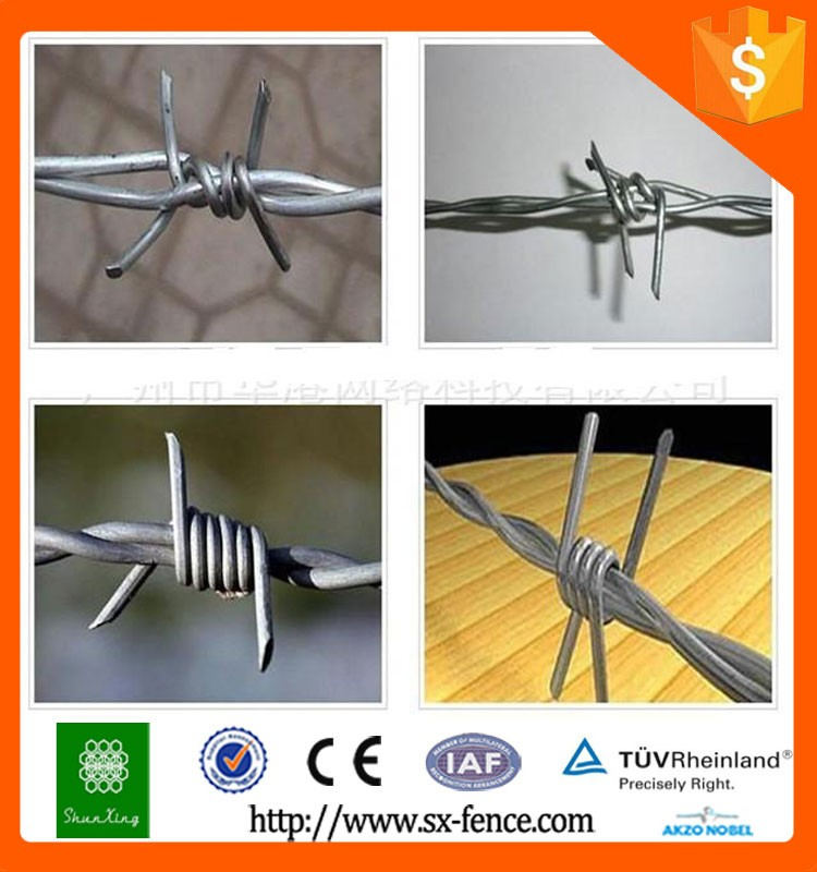 Barbed Wire Factory Cheap Price Galvanized Double Twist Barbed Wire