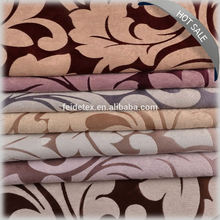100% Polyester luxury jacquard fabric picture for curtain