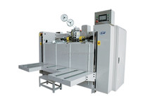 DongGuang DongChuang packing machinery/semi-automatic box stitching corrugated carton machine