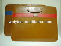 light brown leather case for tablet pc