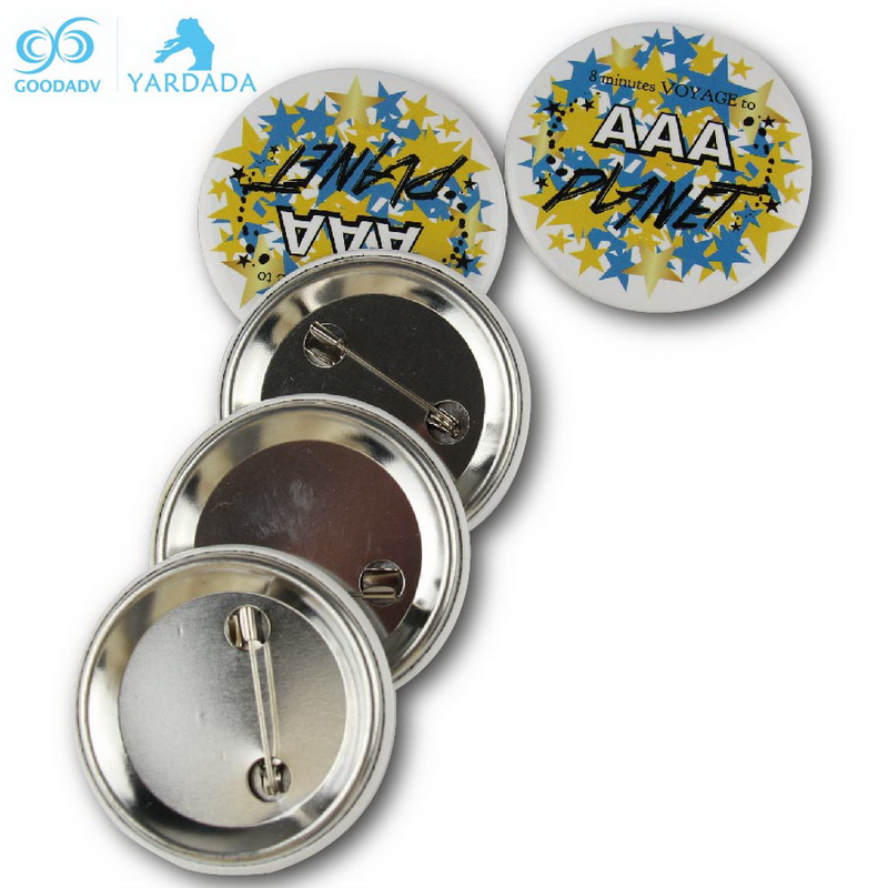 Hot Sale Cheap Promotional Gifts round pin badge pin