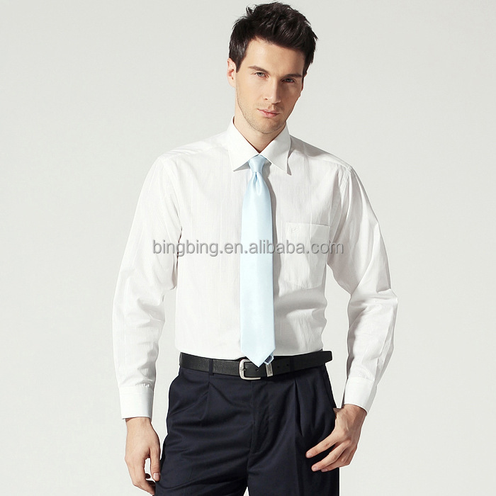 Classic design mens dress shirt white pink buy dress Buy white dress shirt