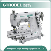 Hot china products Customised 3 needles jeans industrial sewing machine ,used overlock sewing machine,hemming sewing machine
