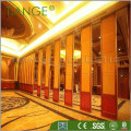 Mobile fabric acoustic banquet hall collapsable walls acoustic silent movable partition for conference