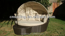 Rattan outdoor daybed canopy