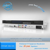 DVB IRD (CI CAM Card) IPTV HD satellite demodulator decoder