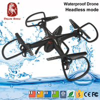 China waterproof 2.4G 4ch rc quad copter with 6 axis gyro