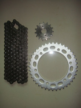 Motorcycle parts Transmission kits for Brazil Honda NX 400 FALCON Chain Sprocket in Brazil market