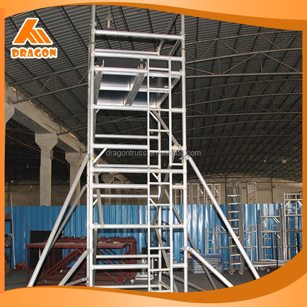 Factory custom OEM/ODM service painted aluminum mobile scaffold