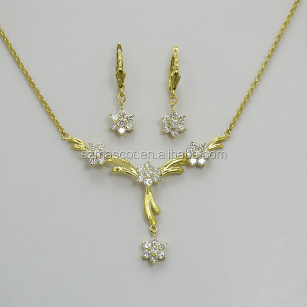 Italian Gold Plated Bridal Wedding Alibaba Express Jewelry Sets